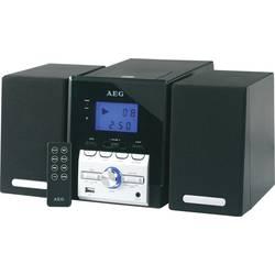 Stereoanlæg AEG MC 4443 AUX, CD, USB, MW, FM, Sort