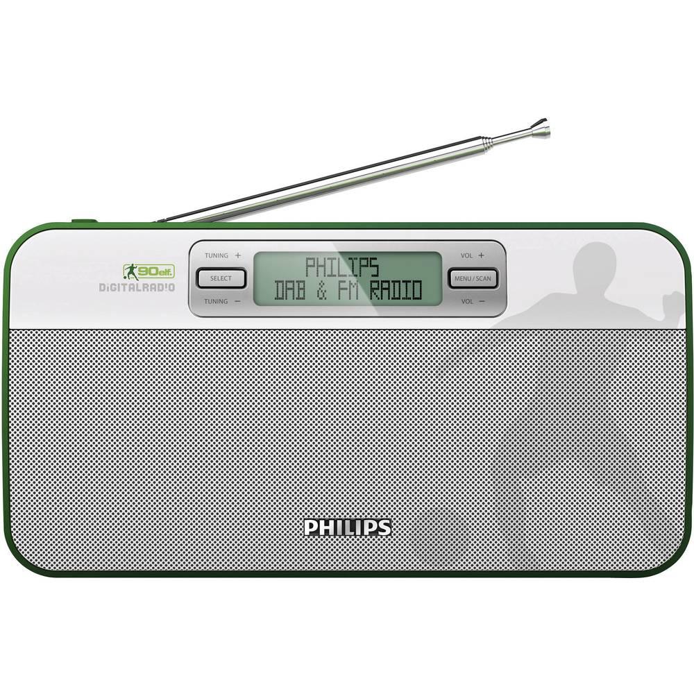Philips Ae9011 Bathroom Radio White Green