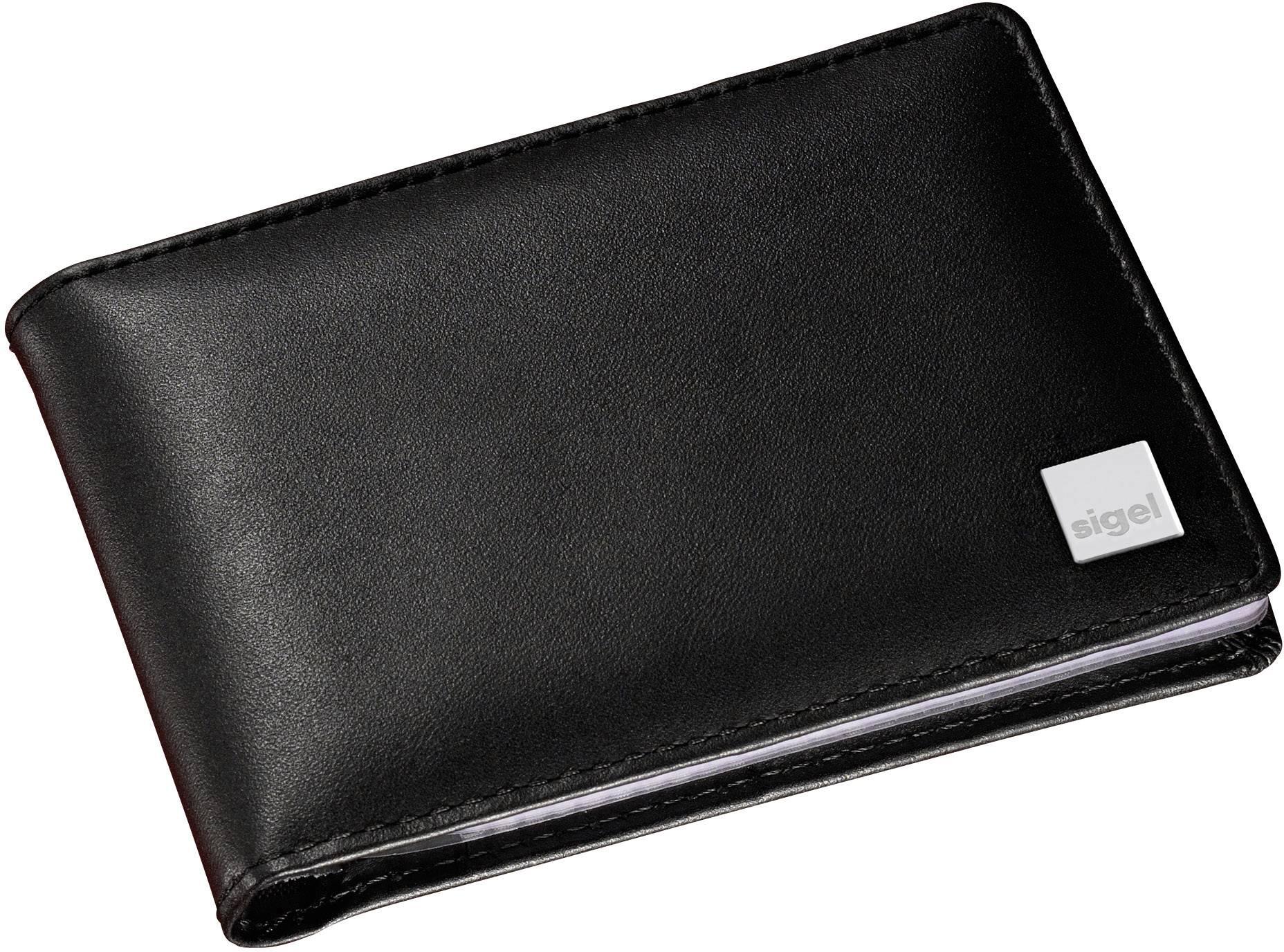 Sigel Vz201 Torino Business Card Folder 40 Cards W X H X D