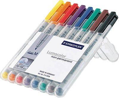 Selection Offer Staedtler Non-Permanent Pen Marker Non-Permanent Ohp Marker