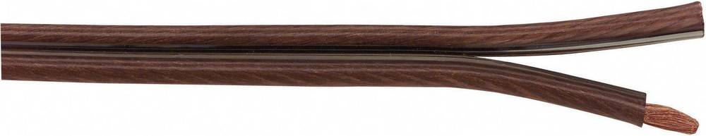 Kabel za zvučnike Super Flex AIV 2 x 4 mm dimno-prozirna, roba na metre