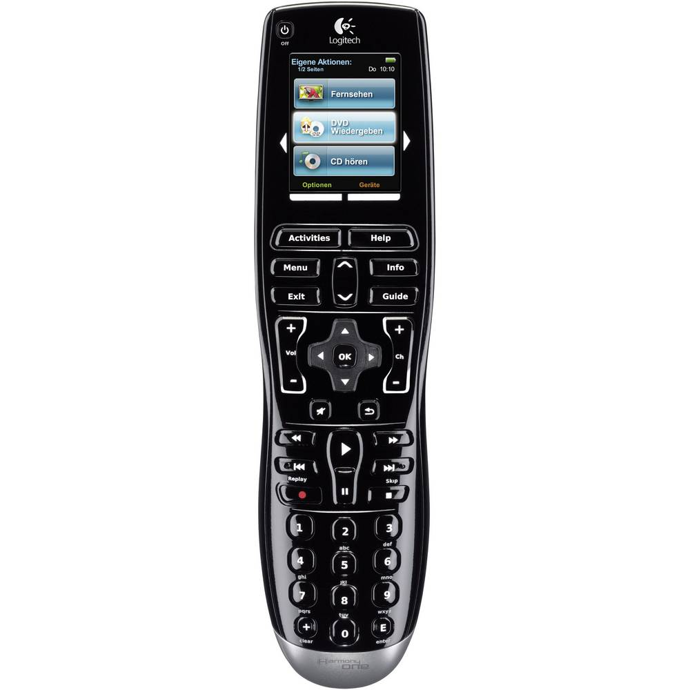 Logitech HARMONY ONE 915-000036 Remote control, 15Devices