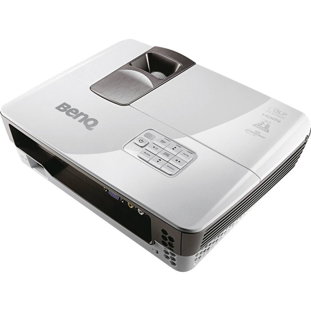 BenQ MX711 DLP Projector, ANSI lumens 3200, 1024 x 768, 5300 : 1, 5000 hrs, Grey, Black from ...