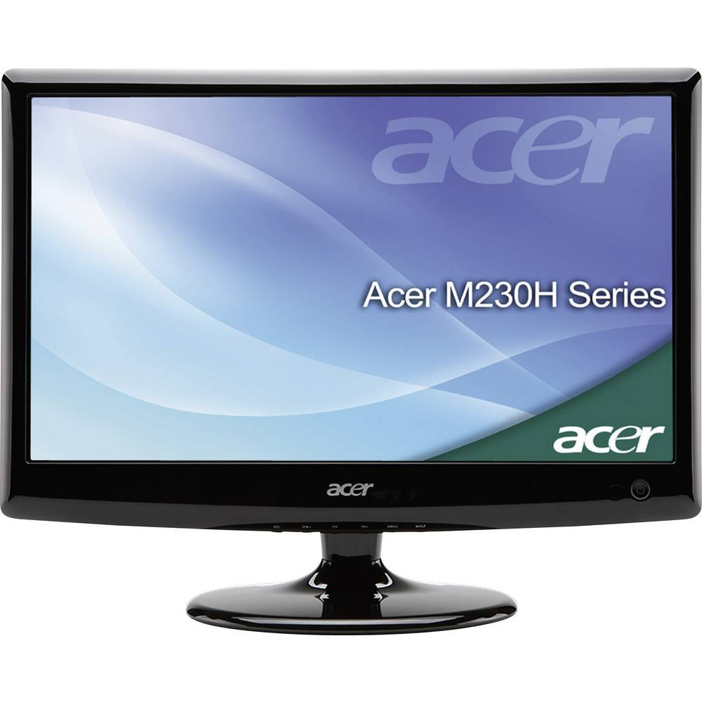 acer m230hdl led tv 58 cm 23 inch 1920 x 1080 full hd 120 from conrad electronic uk. Black Bedroom Furniture Sets. Home Design Ideas