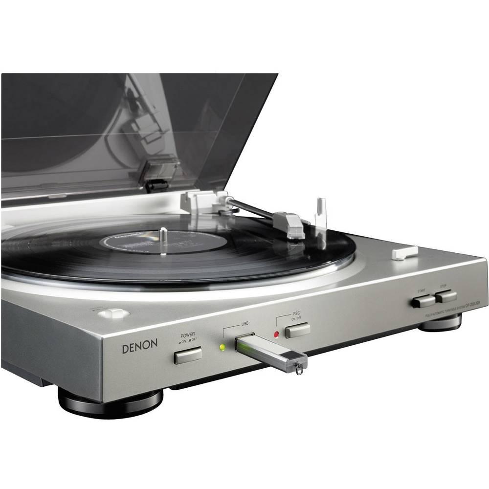 Denon DP-200USB USB Turntable 33 1/3 and 45 rpm.