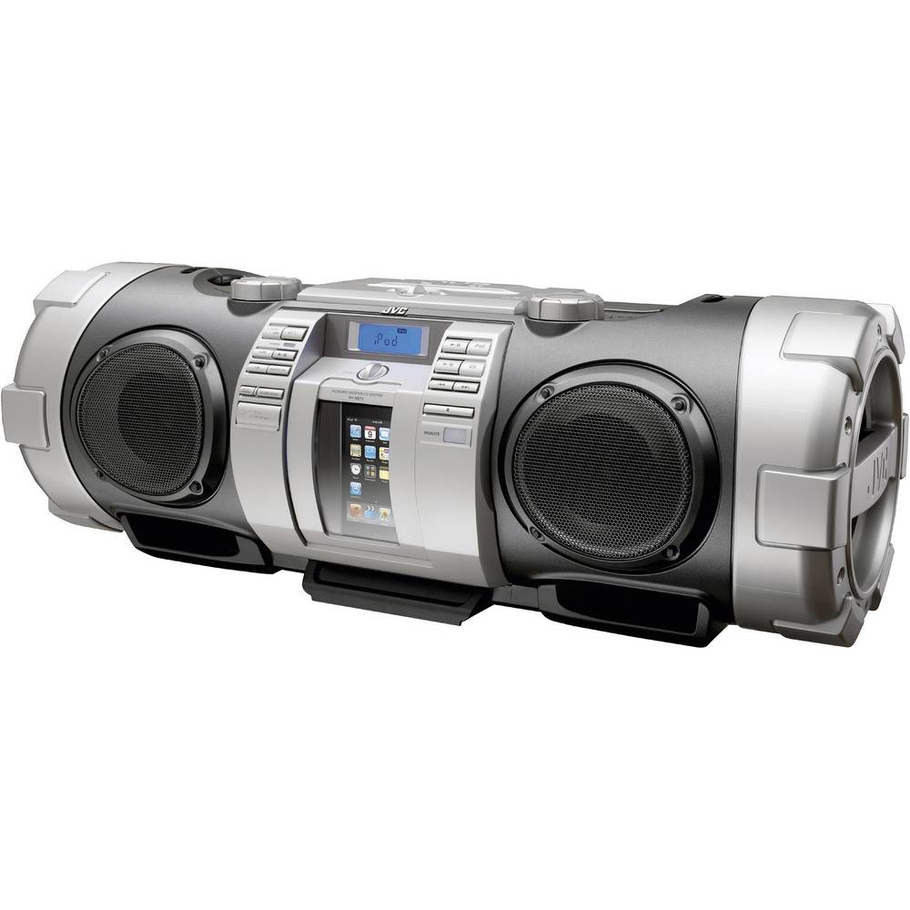 JVC RV-NB70 Boombox with Dock for iPod / iPhone