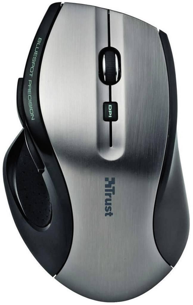 8b8895511d7 Trust MaxTrack Wireless mouse Optical Black | Conrad.com