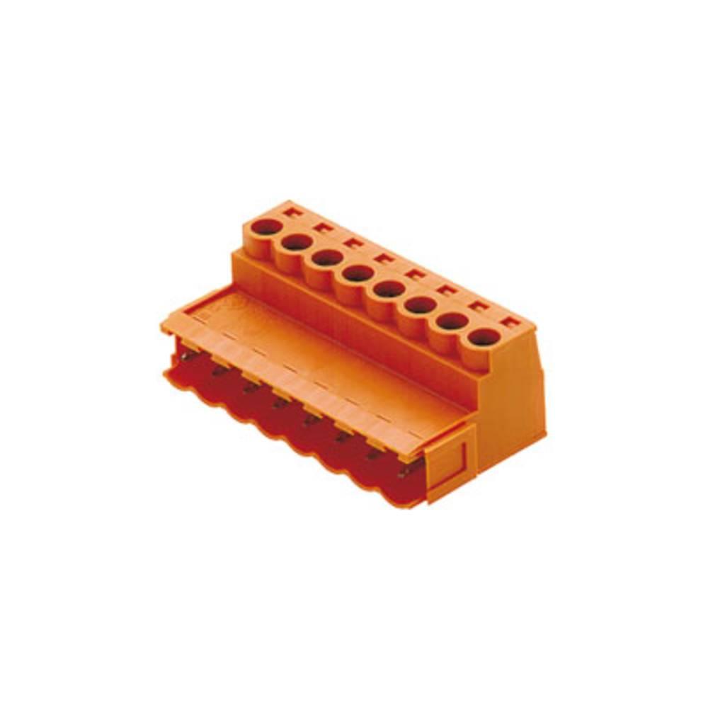 Stiftkabinet-kabel BL/SL 5.08 Samlet antal poler 5 Weidmüller 1627270000 Rastermål: 5.08 mm 66 stk