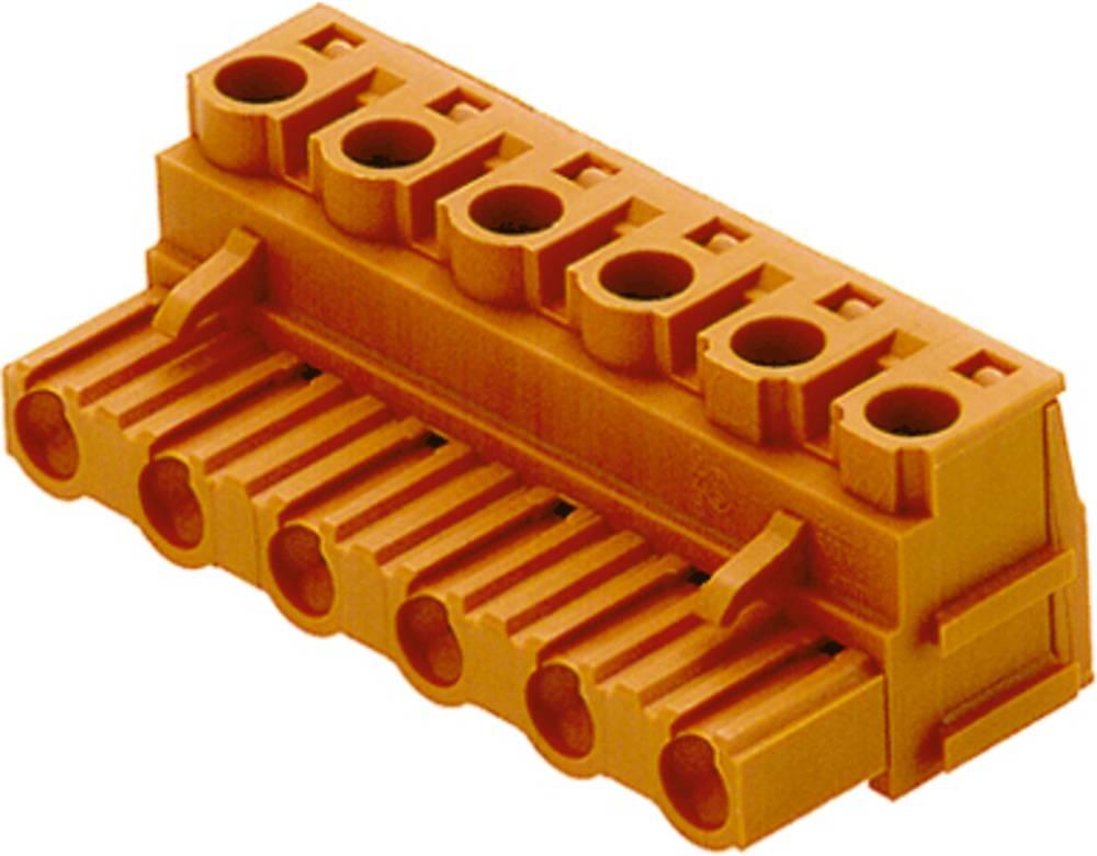 Tilslutningskabinet-kabel BL/SL Samlet antal poler 2 Weidmüller 1628140000 Rastermål: 7.50 mm 100 stk