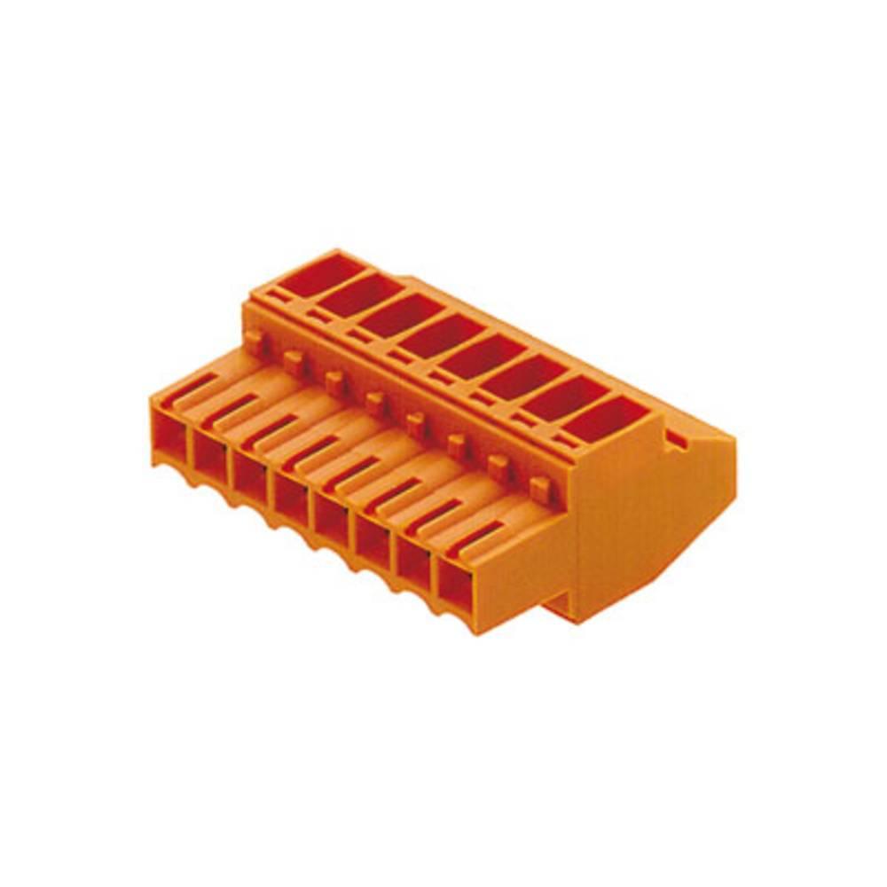Tilslutningskabinet-kabel BL/SL Samlet antal poler 4 Weidmüller 1638570000 Rastermål: 3.50 mm 132 stk