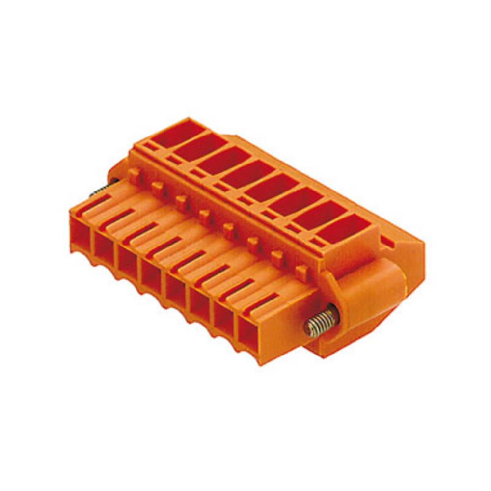 Tilslutningskabinet-kabel BL/SL Samlet antal poler 7 Weidmüller 1639060000 Rastermål: 3.50 mm 50 stk