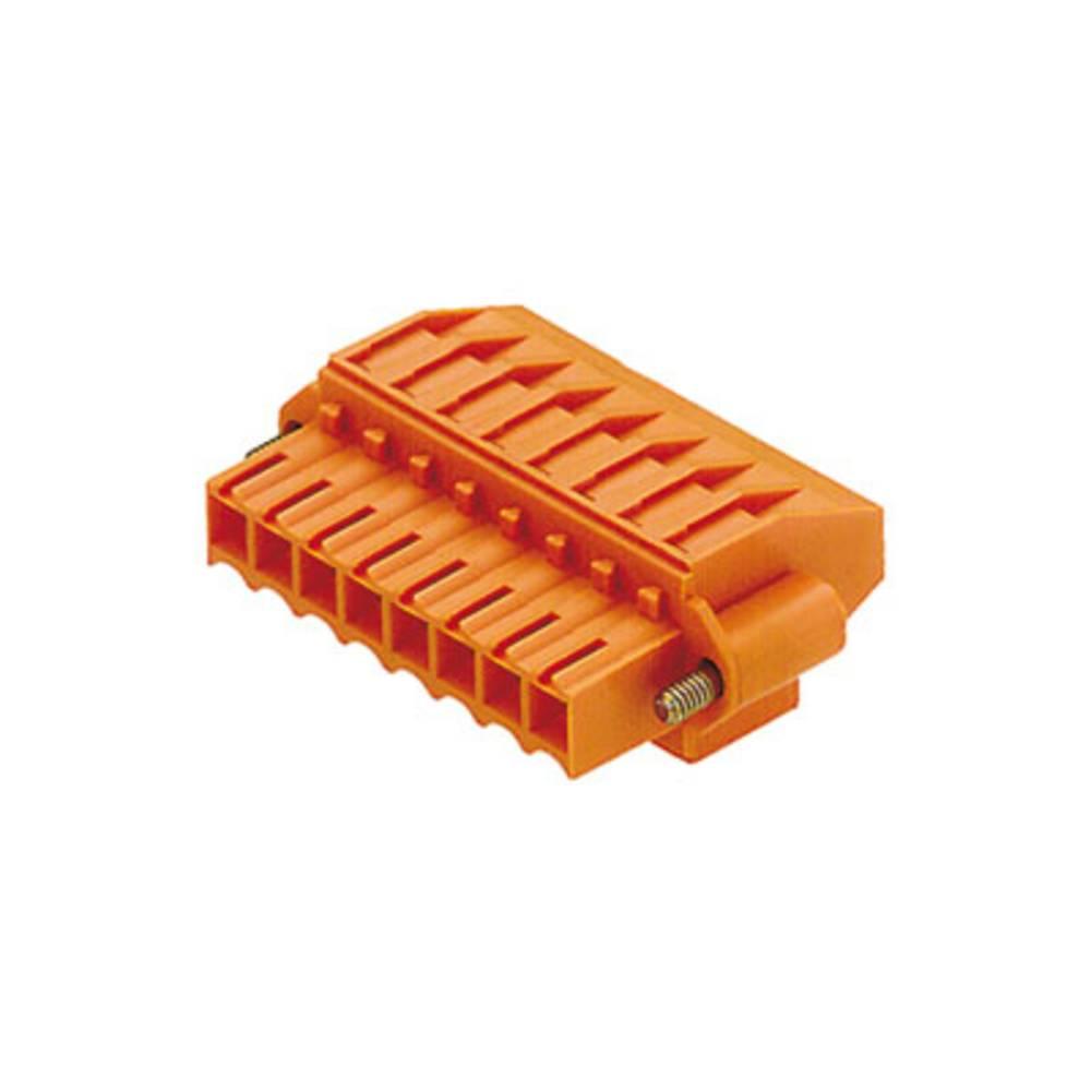 Tilslutningskabinet-kabel BL/SL Samlet antal poler 18 Weidmüller 1640320000 Rastermål: 3.50 mm 20 stk