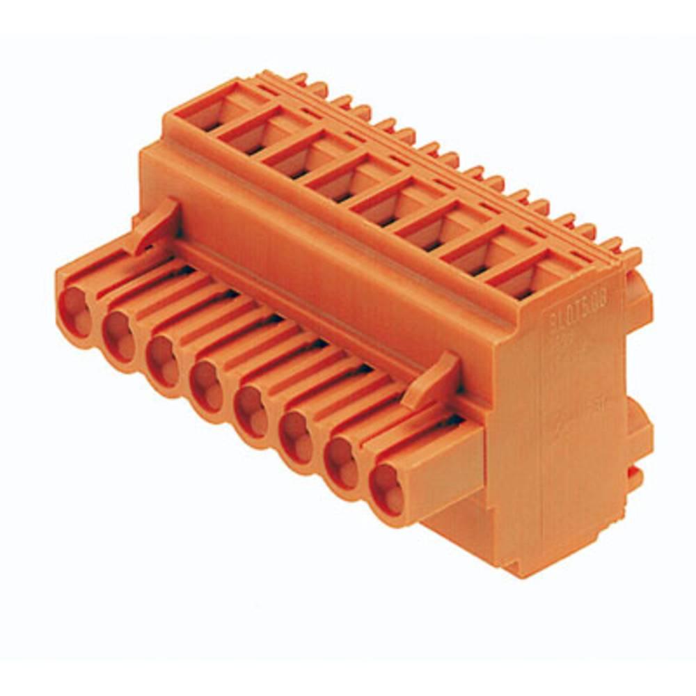 Tilslutningskabinet-kabel BL/SL 5.08 Samlet antal poler 9 Weidmüller 1644800000 Rastermål: 5.08 mm 30 stk