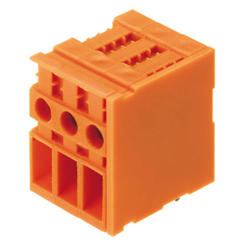 Skrueklemmeblok Weidmüller TOP4GS8/90 6.35 OR 4.00 mm² Poltal 8 Orange 50 stk