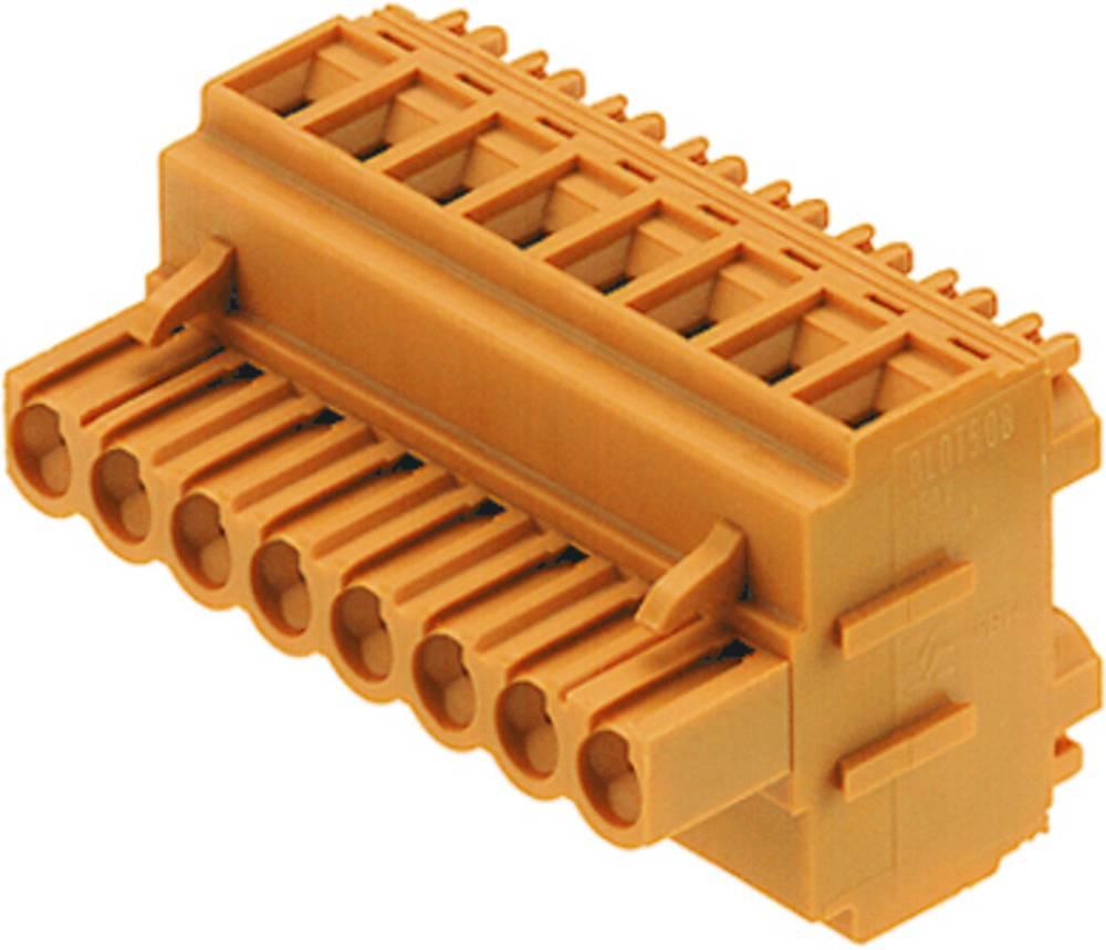 Tilslutningskabinet-kabel BL/SL 5.08 Samlet antal poler 7 Weidmüller 1651790000 Rastermål: 5.08 mm 40 stk
