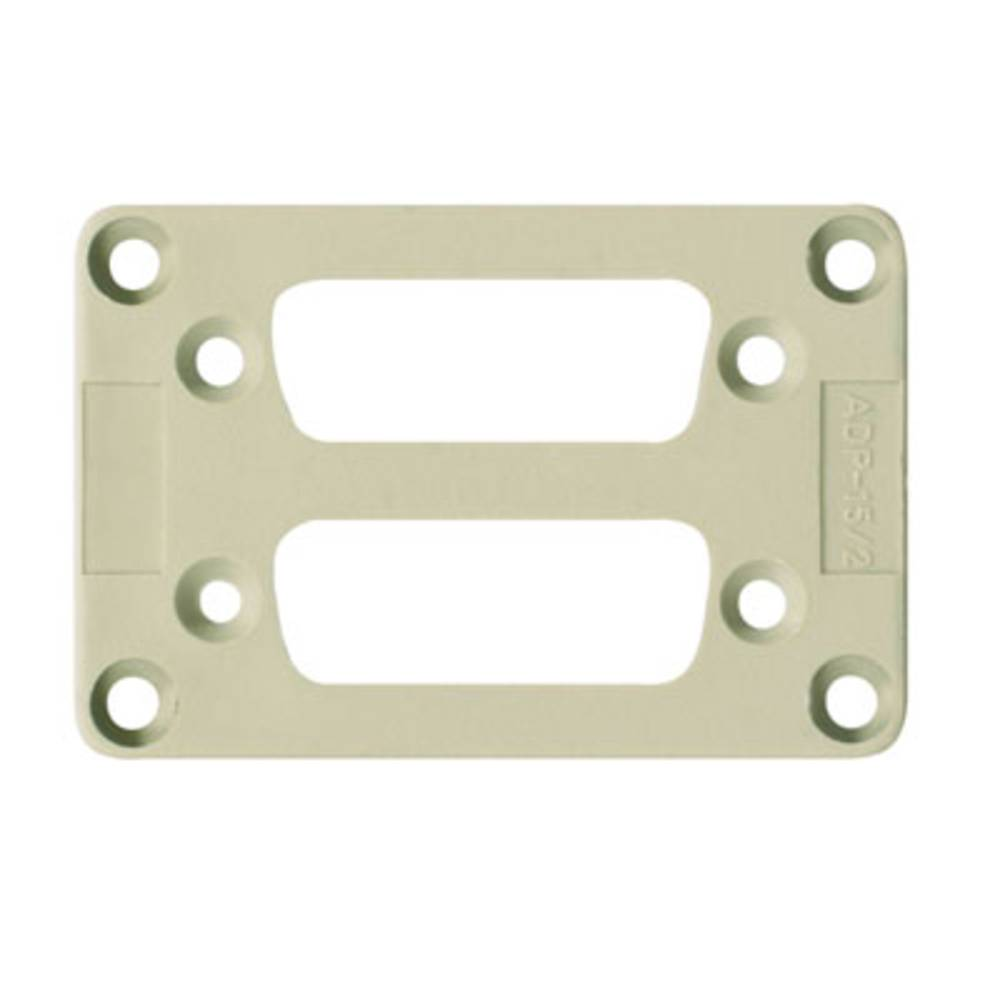 adapterplade Weidmüller ADS/6-2/15 10 stk