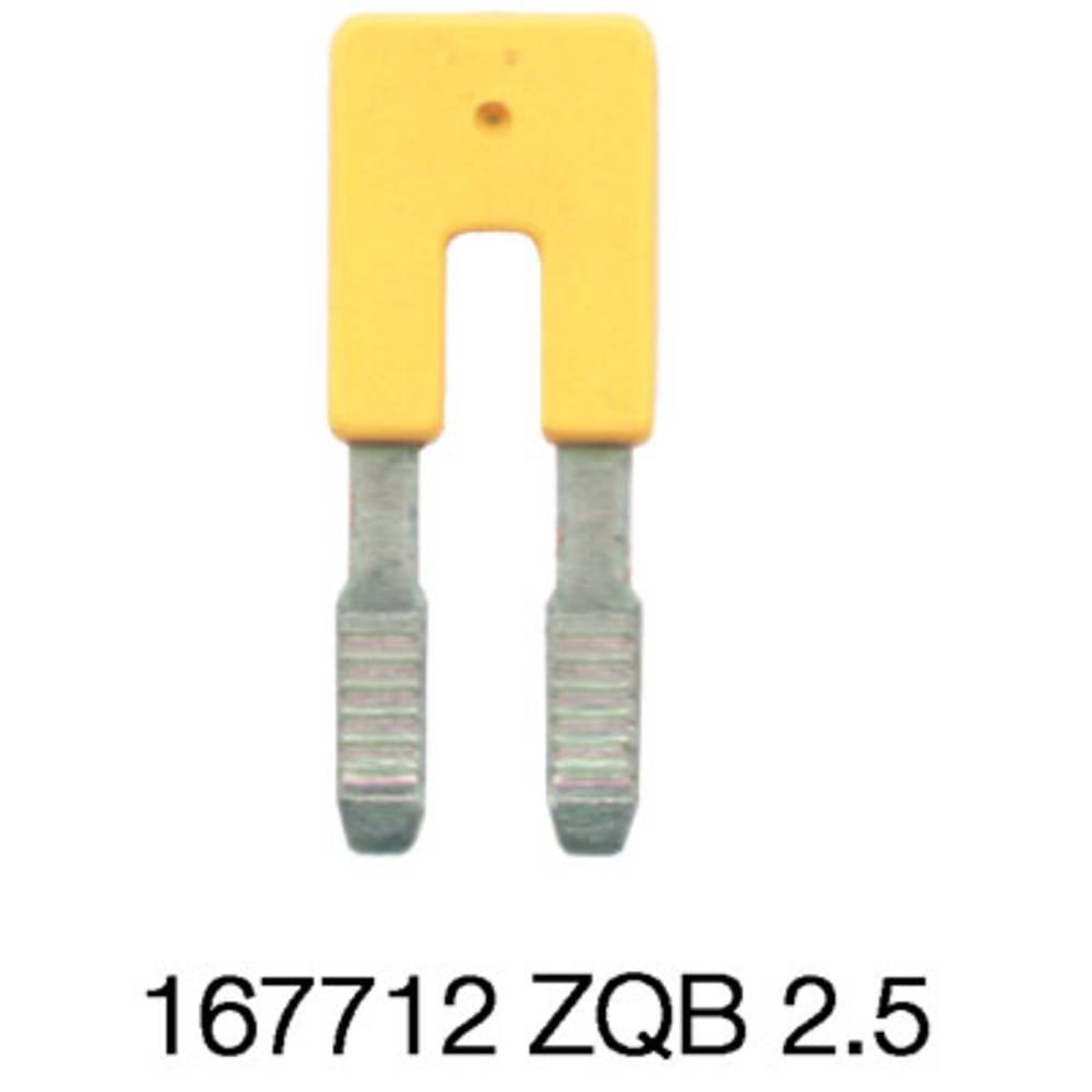 Cross-tilslutning kamme ZQB 2.5-2 1677120000 Weidmüller 50 stk