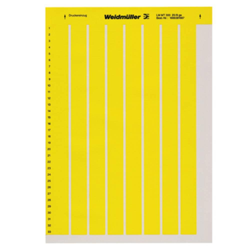 Printsystem printer Weidmüller LM MT300 56X22 GE 1686421687 10 stk Antal markører 360 Gul
