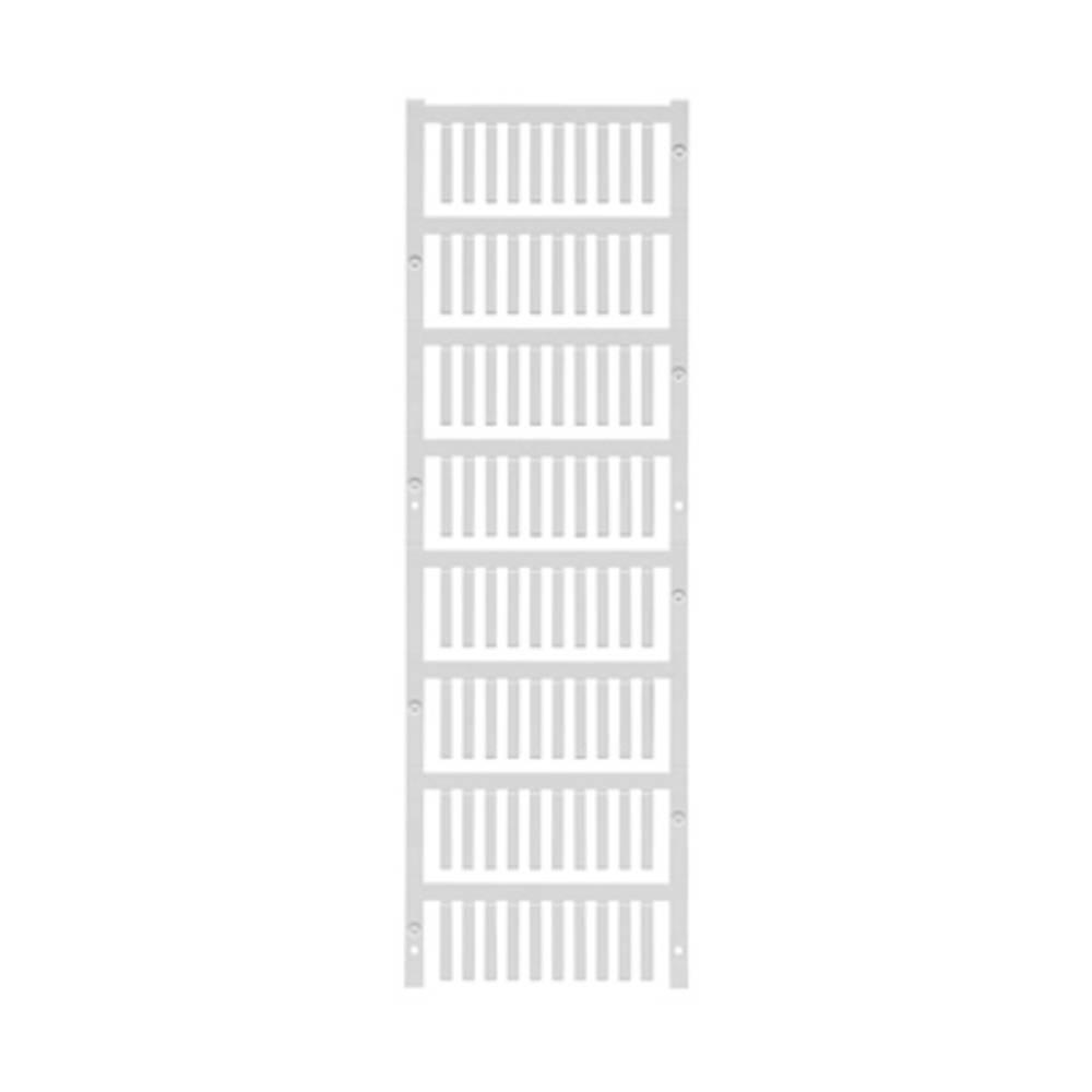 Ledermarkør Weidmüller VT SF 0/21 NEUTRAL WS V0 1730590001 800 stk Antal markører 800 Hvid