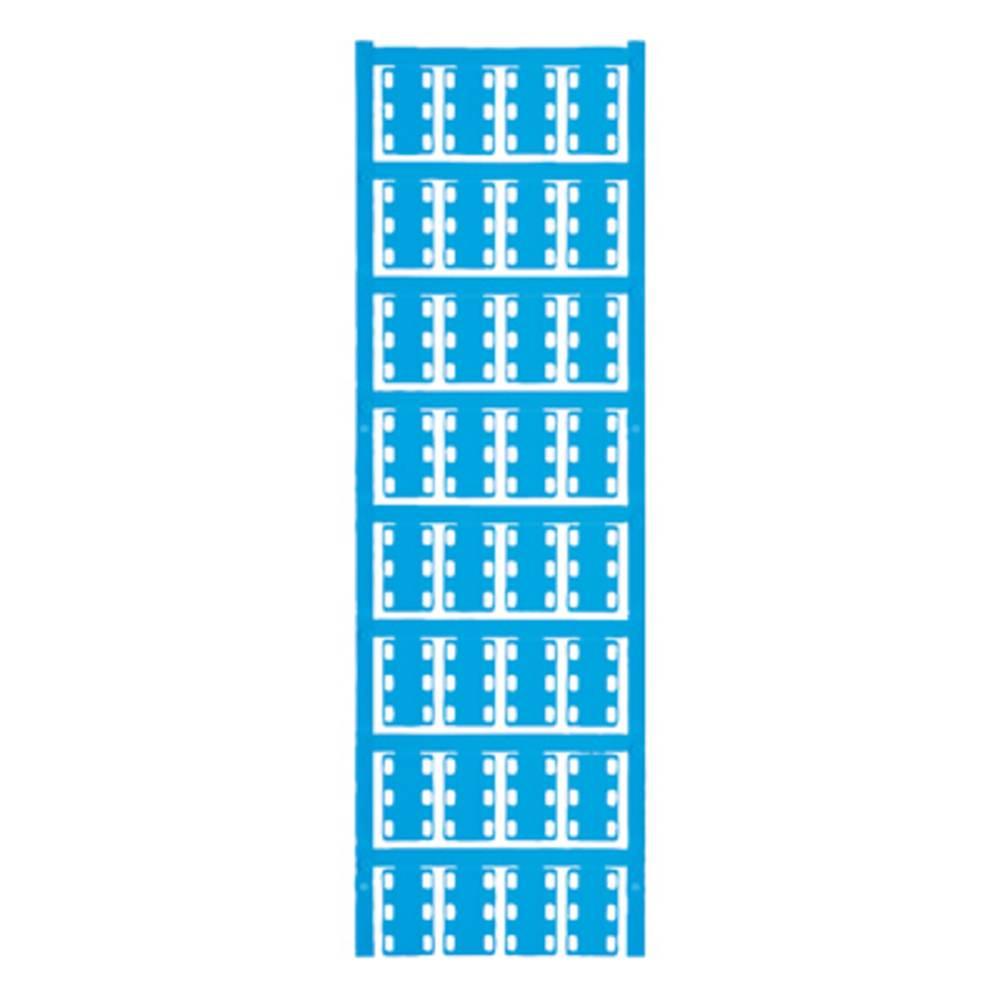 Ledermarkør Weidmüller VT SFX 14/23 NEUTRAL BL V0 1689490002 320 stk Antal markører 320 Atolblå