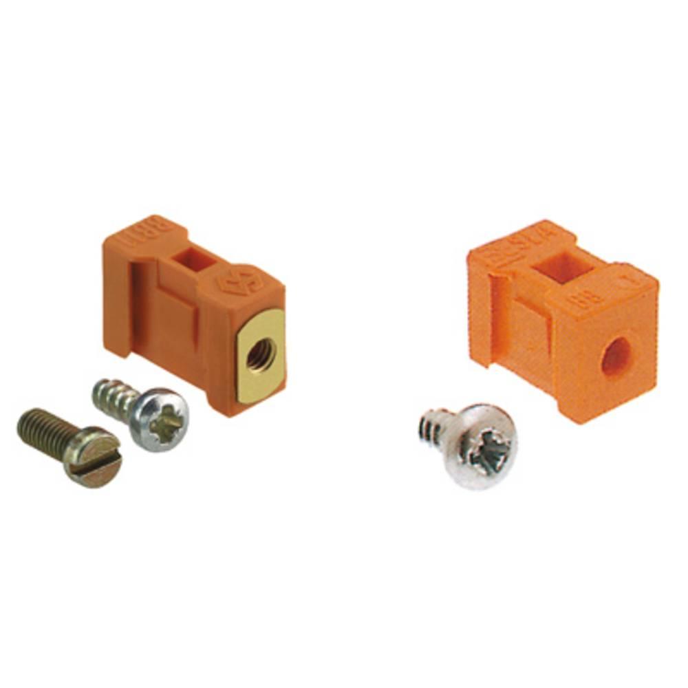 Konektor tiskanega vezja SLA BB1R OR Weidmüller vsebuje: 20 kosov