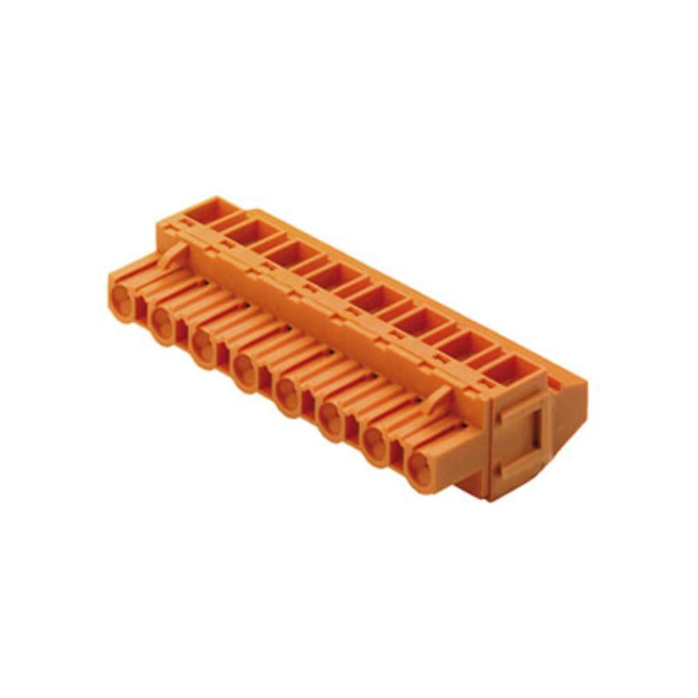 Tilslutningskabinet-kabel BL/SL Samlet antal poler 3 Weidmüller 1703230000 84 stk