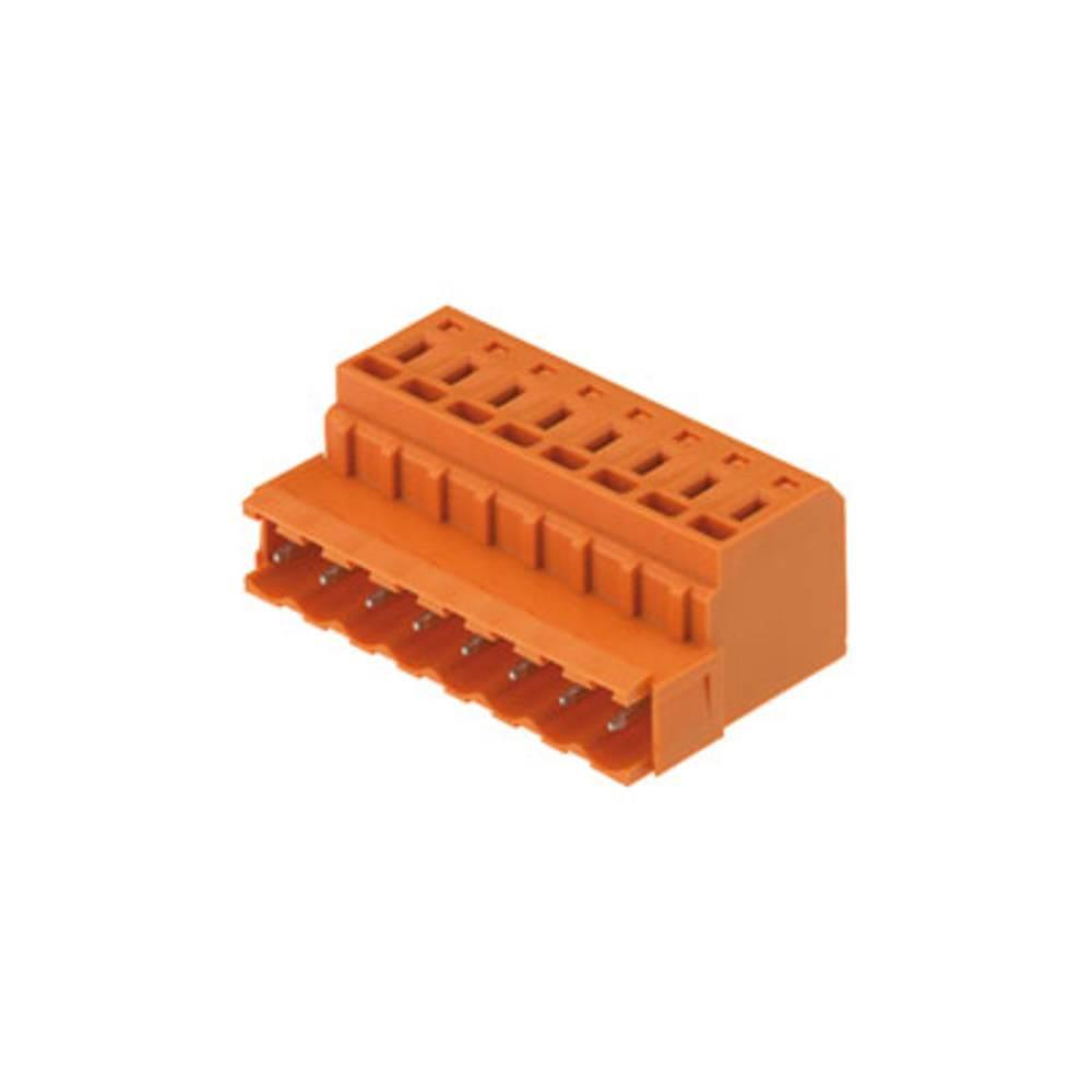 Pinski konektor (standarden) Weidmüller 1710210000, mere: 5.08 mm 100 kosov