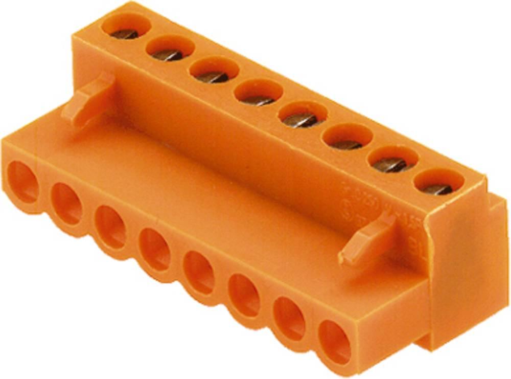 Priključek (standardni) Weidmüller 1716480000, mere: 5.08 mm 100 kosov