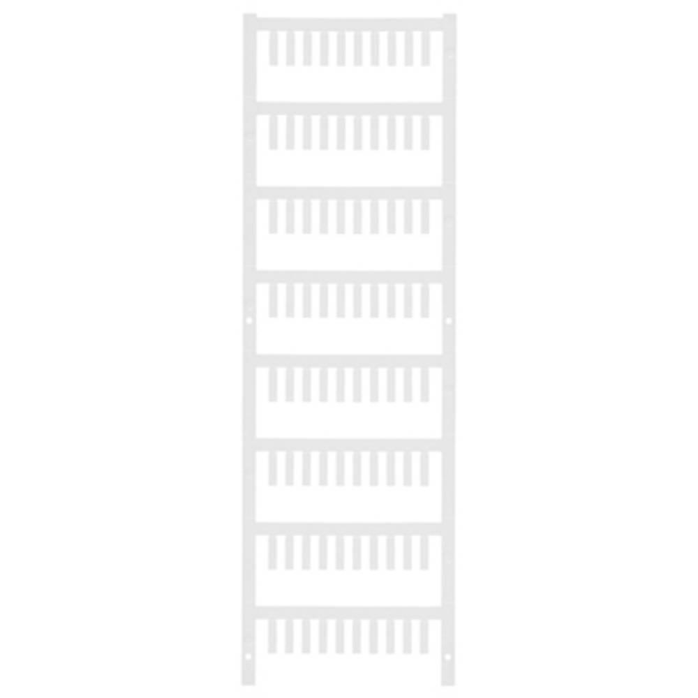 Ledermarkør Weidmüller VT SF 1/12 NEUTRAL WS V0 1718470001 800 stk Antal markører 800 Hvid