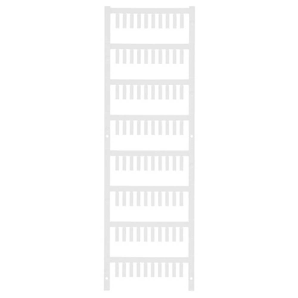 Ledermarkør Weidmüller VT SF 2/12 NEUTRAL WS V0 1718480001 800 stk Antal markører 800 Hvid