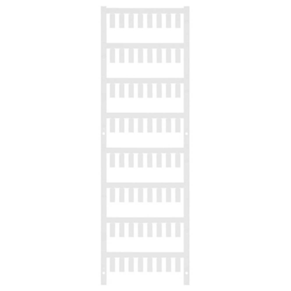 Ledermarkør Weidmüller VT SF 3/12 NEUTRAL WS V0 1718490001 640 stk Antal markører 640 Hvid