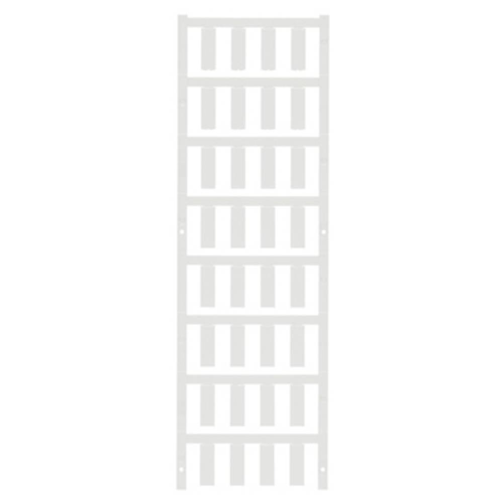 Ledermarkør Weidmüller VT SF 4.5/21 NEUTRAL WS V0 1730570001 192 stk Antal markører 192 Hvid