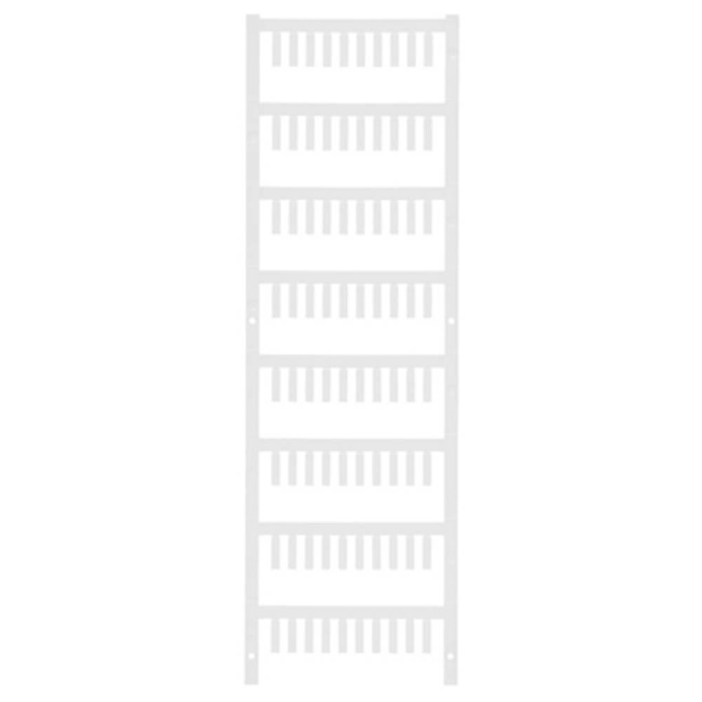 Ledermarkør Weidmüller VT SF 00/12 NEUTRAL WS V0 1752200001 800 stk Antal markører 800 Hvid