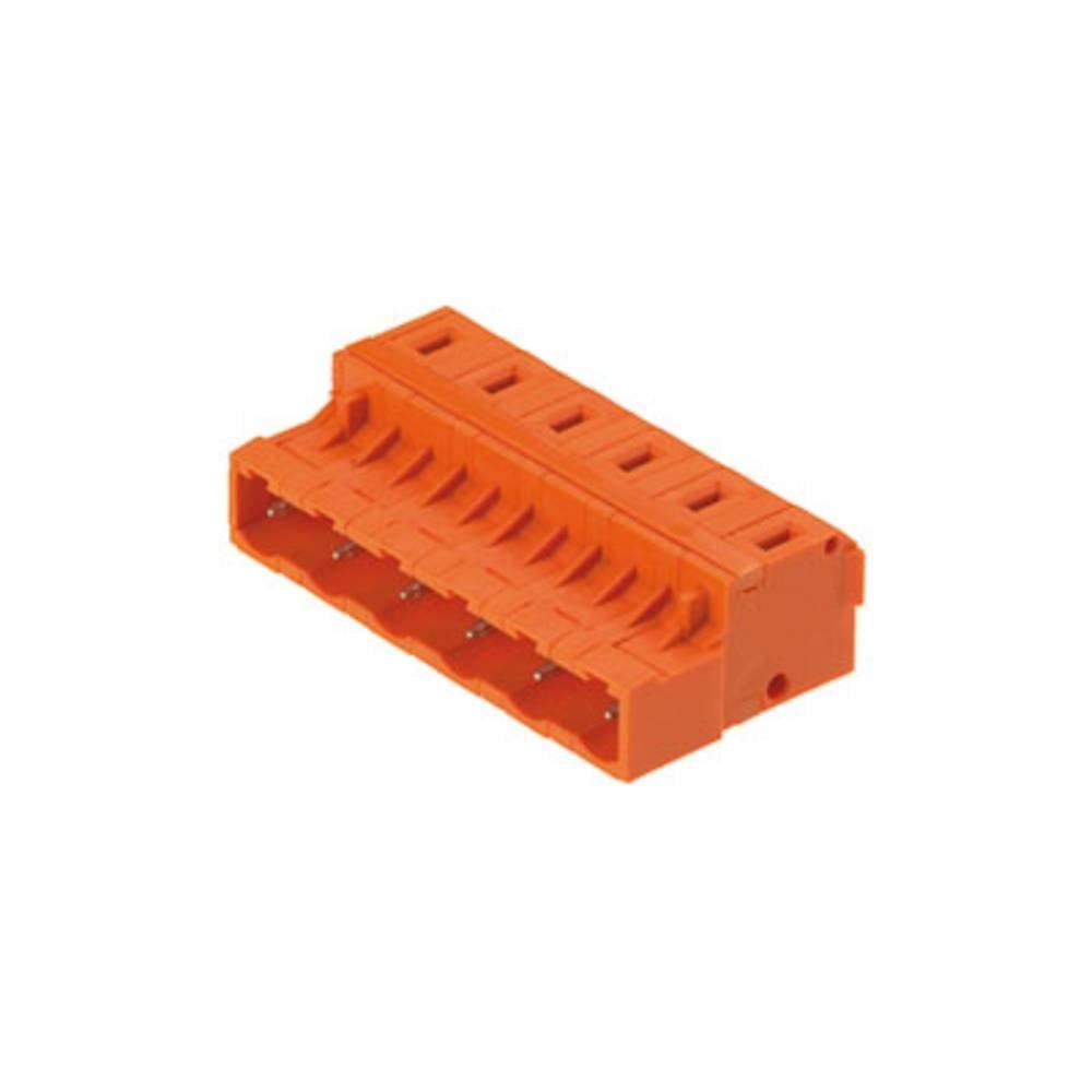 Pinski konektor (standarden) Weidmüller 1754460000, mere: 7.62 mm 100 kosov