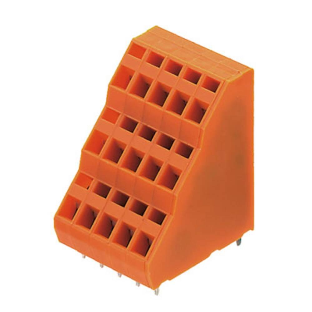 Tre-etagesklemme Weidmüller LM3RZF 5.08/12/135 3.5SN OR BX 1.50 mm² Poltal 12 Orange 50 stk