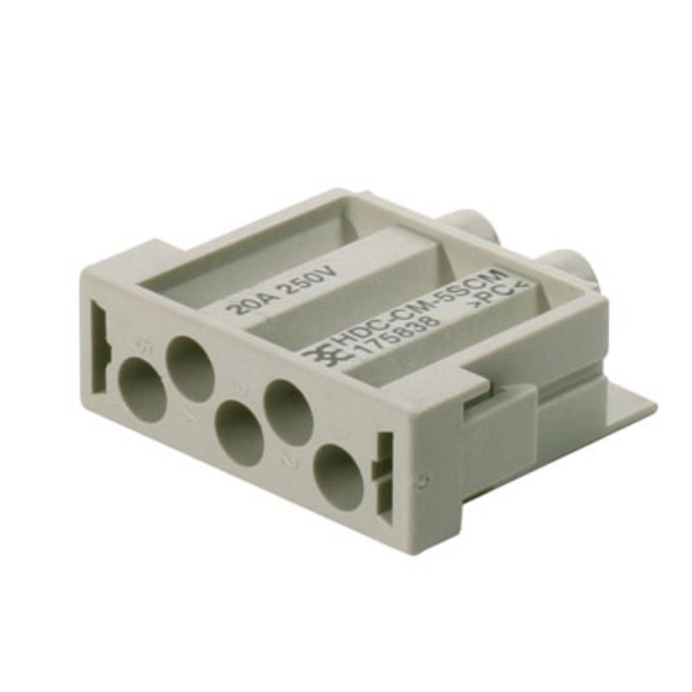 Stiftindsats Weidmüller RockStar® HDC CM 1758380000 1 Crimp 10 stk