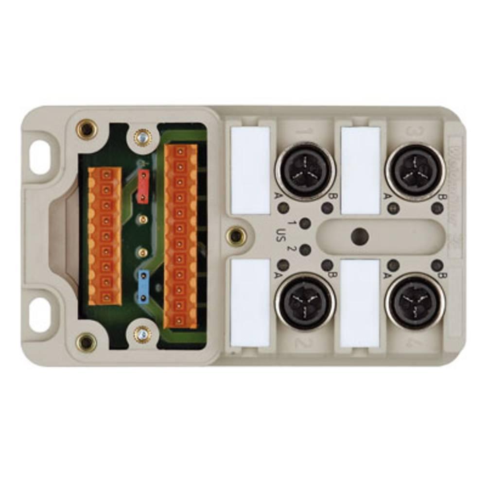 Razdelilnik za pasivne senzorje in aktuatorje SAI-4-M 4P IDC UT Weidmüller vsebuje: 2 kosa