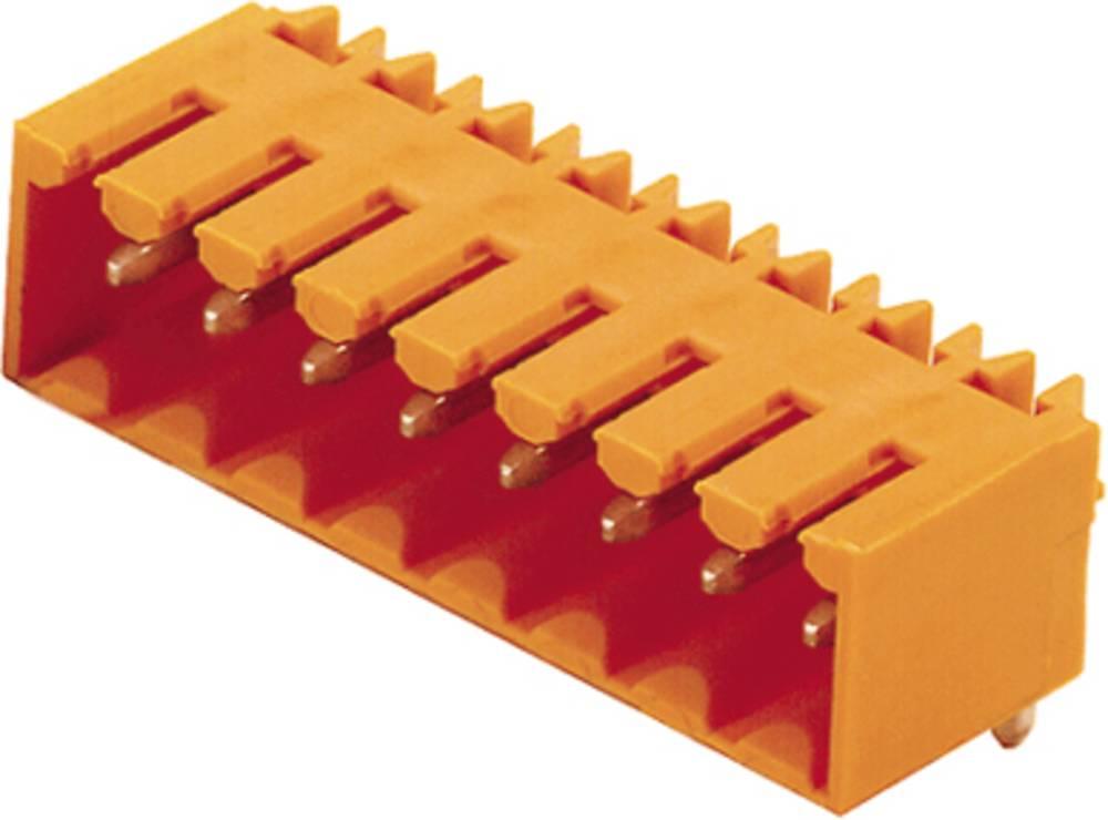 Vtični konektor za tiskana vezja črne barve Weidmüller 1763000000 vsebuje: 50 kosov