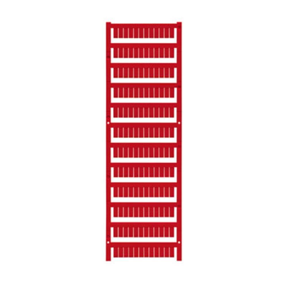 Enhed markører MultiCard WS 10/5 MC NEUTRAL RT 1773531686 Rød Weidmüller 720 stk