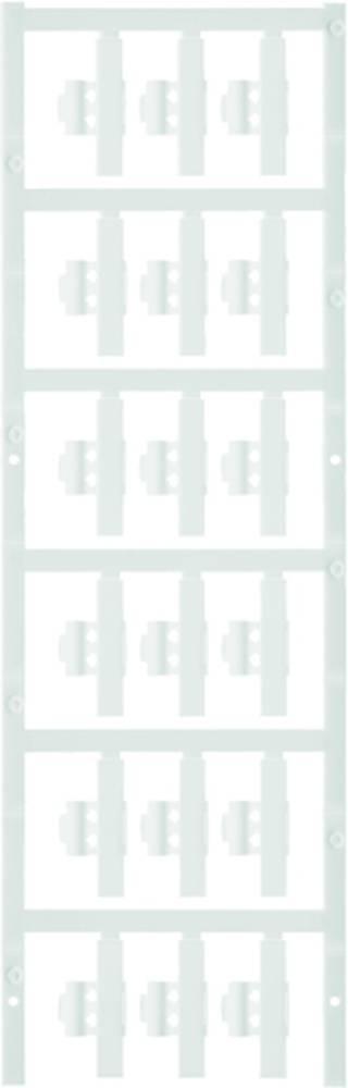 Markeringsophæng Weidmüller SFC 0/30 NEUTRAL WS 1813240000 150 stk Antal markører 150 Hvid