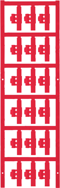 Markeringsophæng Weidmüller SFC 0/30 NEUTRAL RT 1813250000 150 stk Antal markører 150 Rød