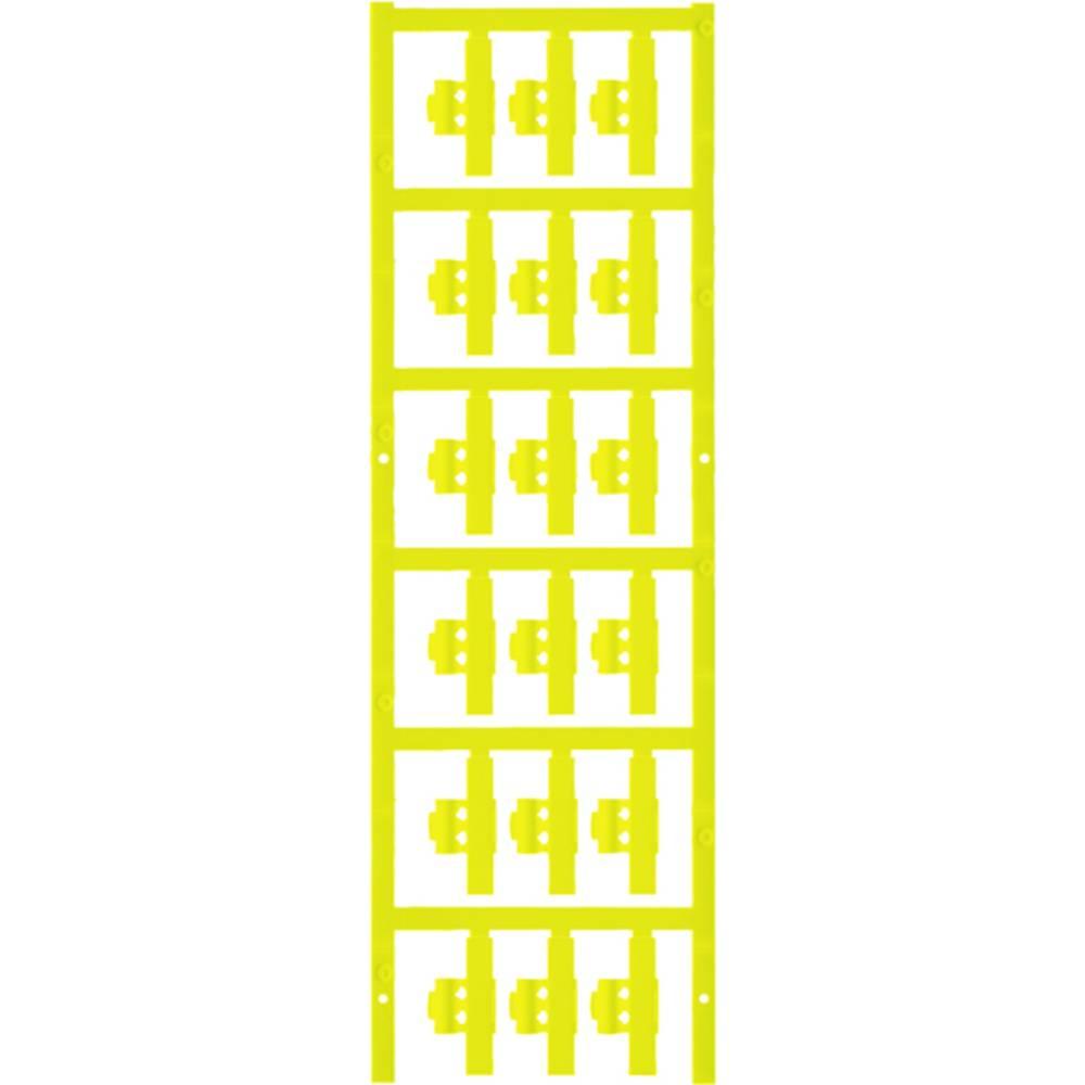 Markeringsophæng Weidmüller SFC 0/30 NEUTRAL GE 1813260000 150 stk Antal markører 150 Gul