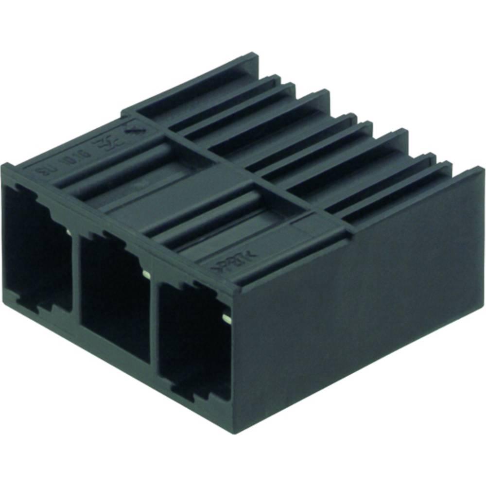 Vtični konektor za tiskana vezja črne barve Weidmüller 1813380000 vsebuje: 20 kosov