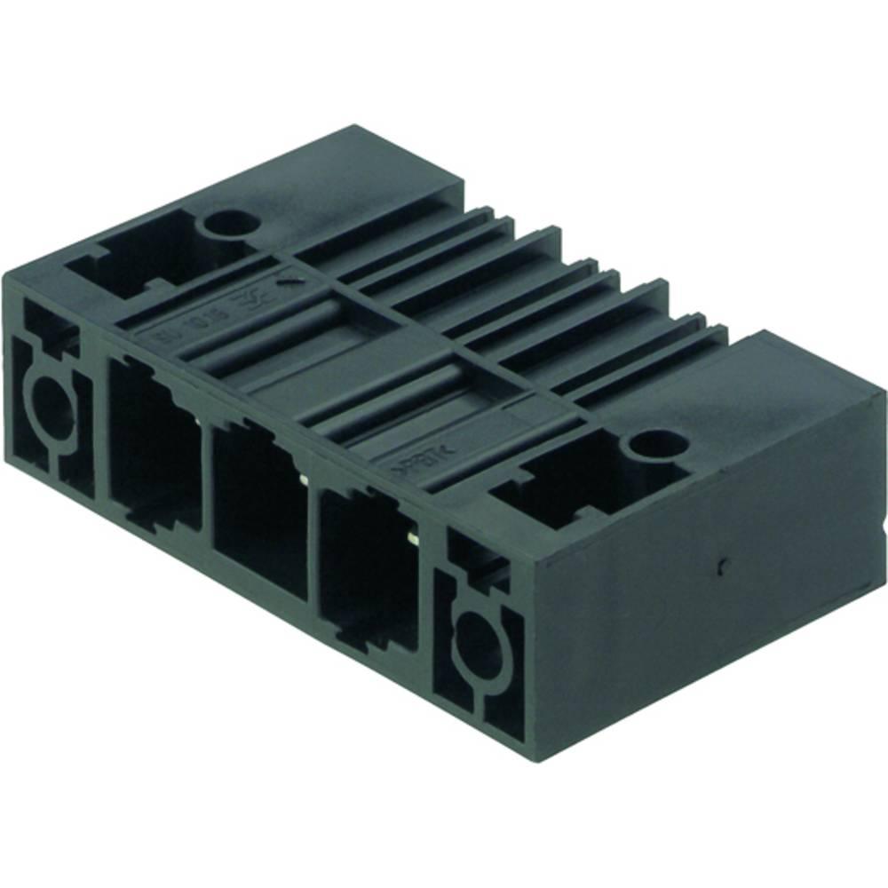 Vtični konektor za tiskana vezja črne barve Weidmüller 1813610000 vsebuje: 20 kosov