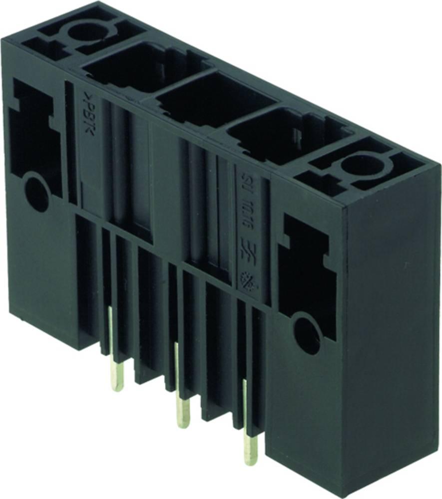 Vtični konektor za tiskana vezja črne barve Weidmüller 1813680000 vsebuje: 20 kosov