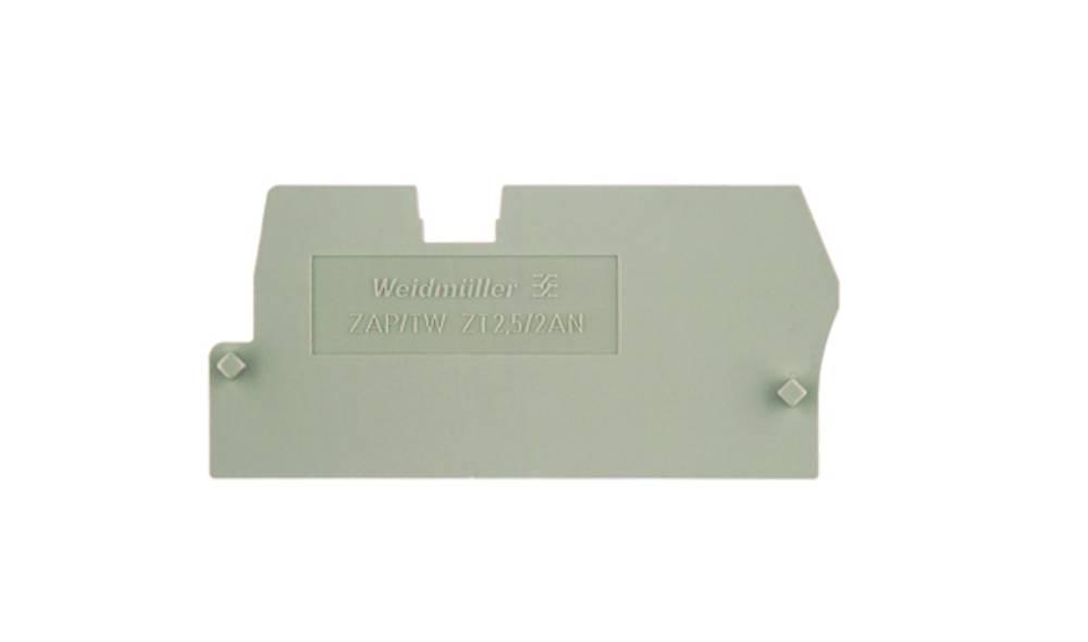endeplade ZAP/TW ZT2.5/2AN 1816030000 Weidmüller 50 stk