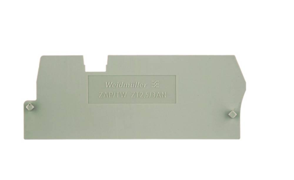 endeplade ZAP/TW ZT2.5/3AN 1816050000 Weidmüller 50 stk