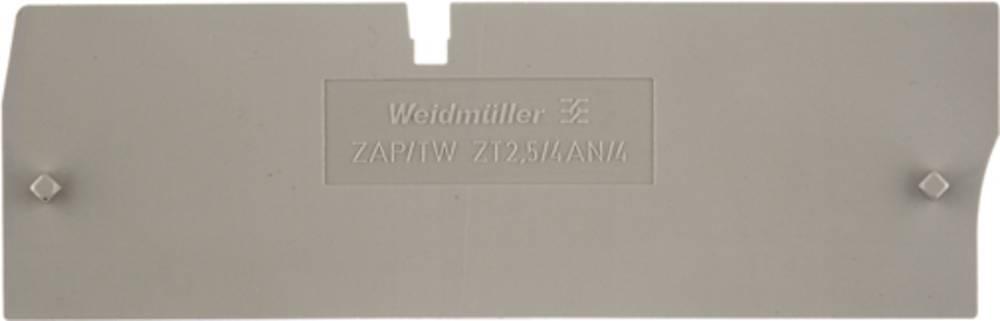 endeplade ZAP/TW ZT2.5/4AN/4 1816090000 Weidmüller 50 stk