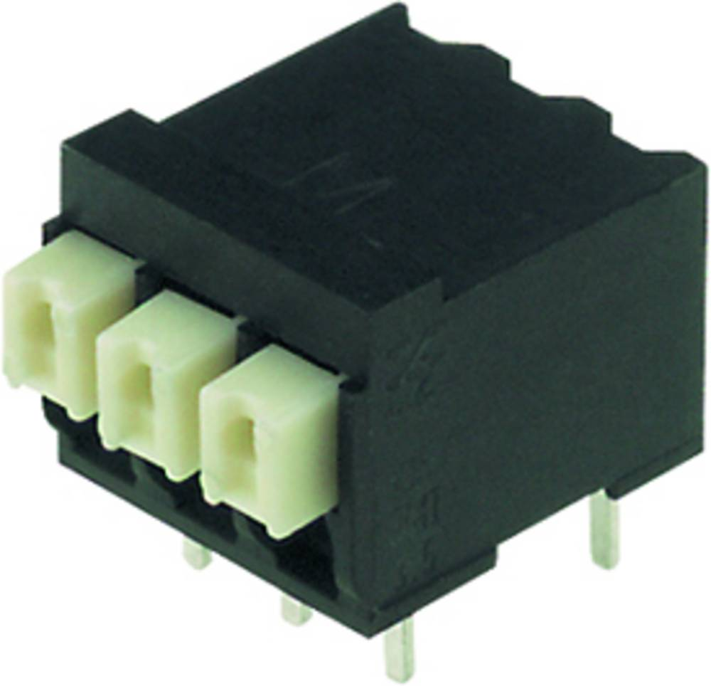 Fjederkraftsklemmeblok Weidmüller LSF-SMT 3.50/05/90 3.5SN BK TU 1.50 mm² Poltal 5 Sort 30 stk