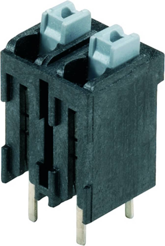 Fjederkraftsklemmeblok Weidmüller LSF-SMT 5.08/07/180 3.5SN BK TU 1.50 mm² Poltal 7 Sort 15 stk